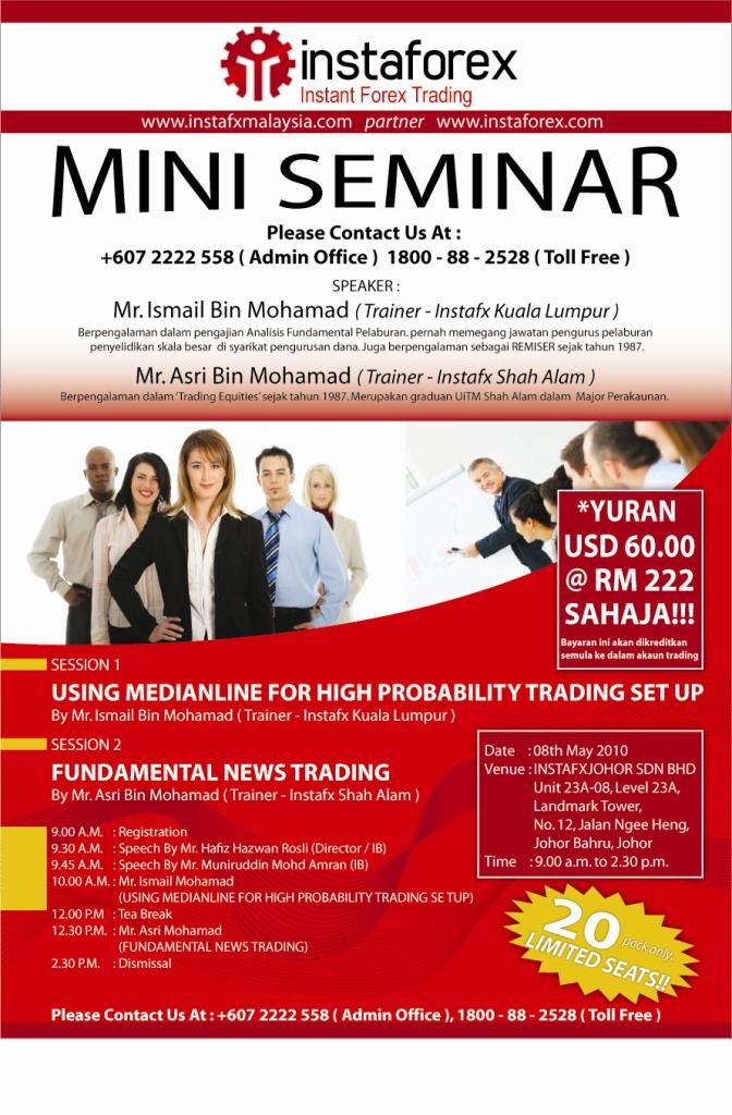Option trading seminar singapore
