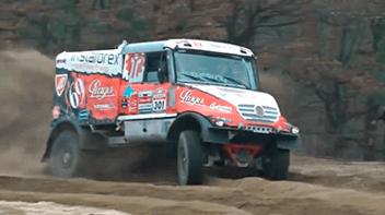 InstaForex Loprais Team mengikuti Dakar 2014