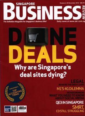Majalah Singapore Business, November 2012