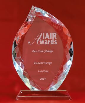 Broker Forex Terbaik di Eropa Timur tahun 2014 dari IAIR Awards