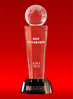 Broker ECN Terbaik di Asia dari International Finance Awards