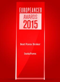 Broker Forex Terbaik tahun 2015 dari European CEO Awards