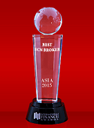The Best ECN Broker 2015 by International Finance Magazine
