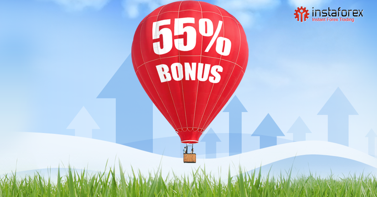 instaforex bonus 55