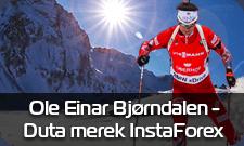 Ole Einar Bjorndalen - brand ambassador InstaForex