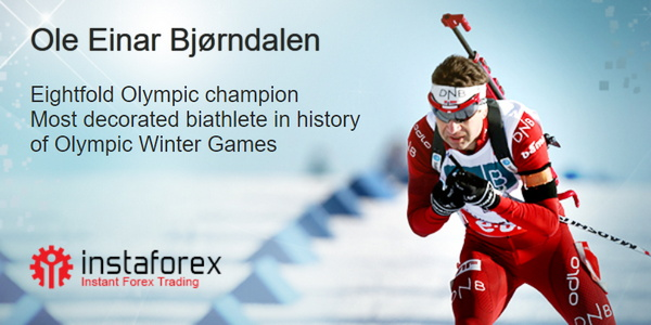 Ole Einar Bjørndalen - brand ambassador InstaForex