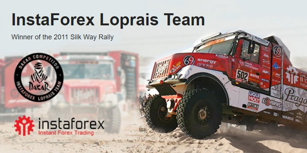 InstaForex Loprais Team – peserta resmi reli Dakar