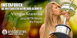 Victoria Azarenka - nama besar dalam tenis dan brand ambassador InstaForex