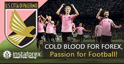 Palermo FC menjadi partner InstaForex