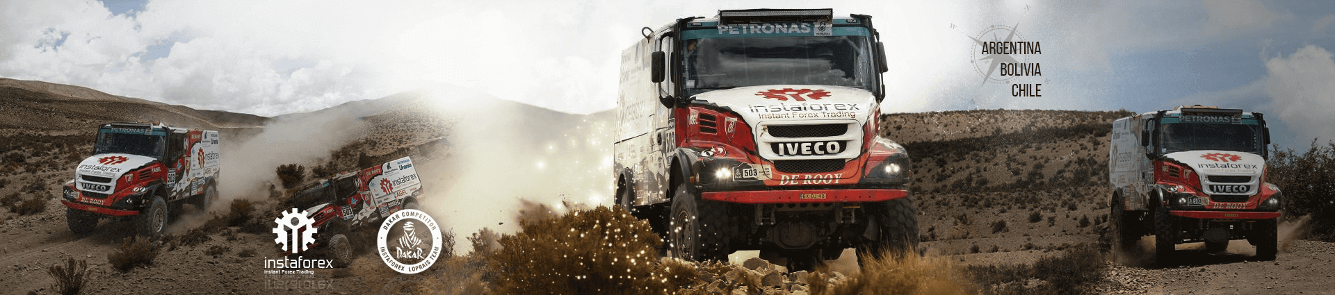 InstaForex Loprais Team - Official participant of the Dakar rally