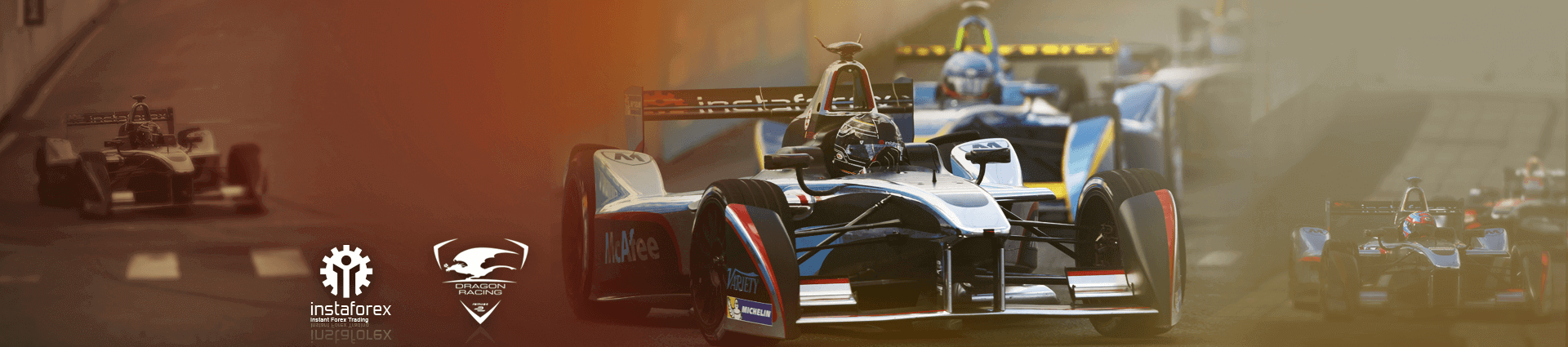 InstaForex - official partner of Dragon Racing