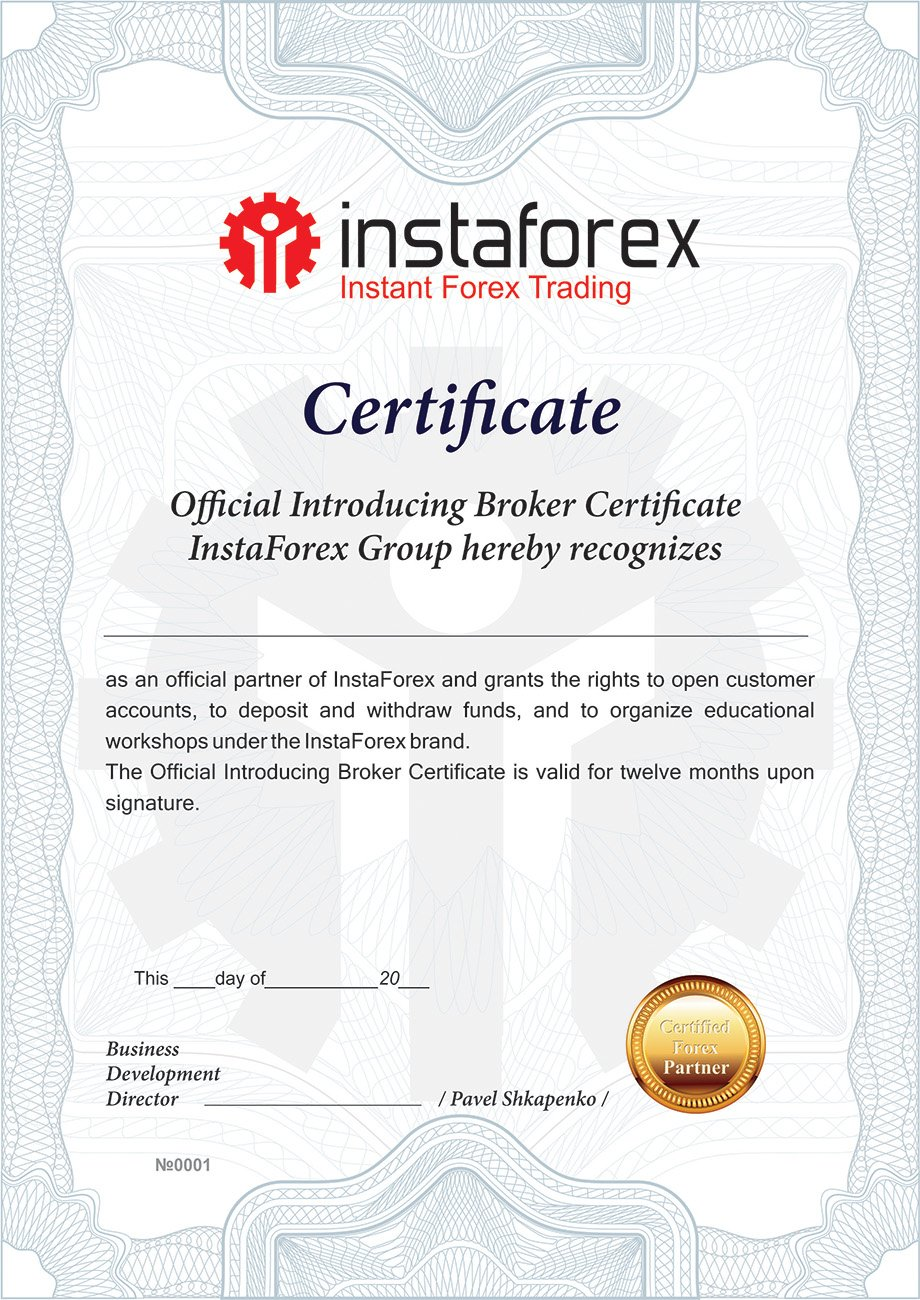 Forex trader certification