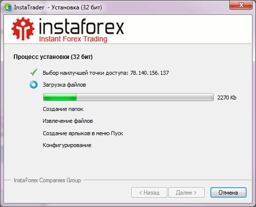 Открытие счета forex